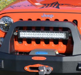 Bullbar led light bracket Jeep
