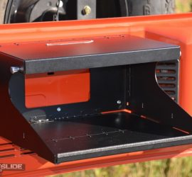 Jeep Wrangler JL trail tailgate table