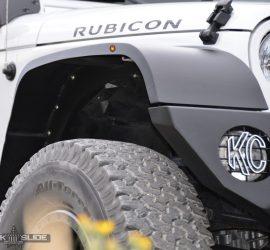 Jeep Wrangler JK front fender flares