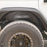 Jeep Wrangler JK rear fender flares