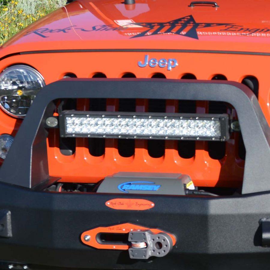 Bullbar led light bracket Jeep