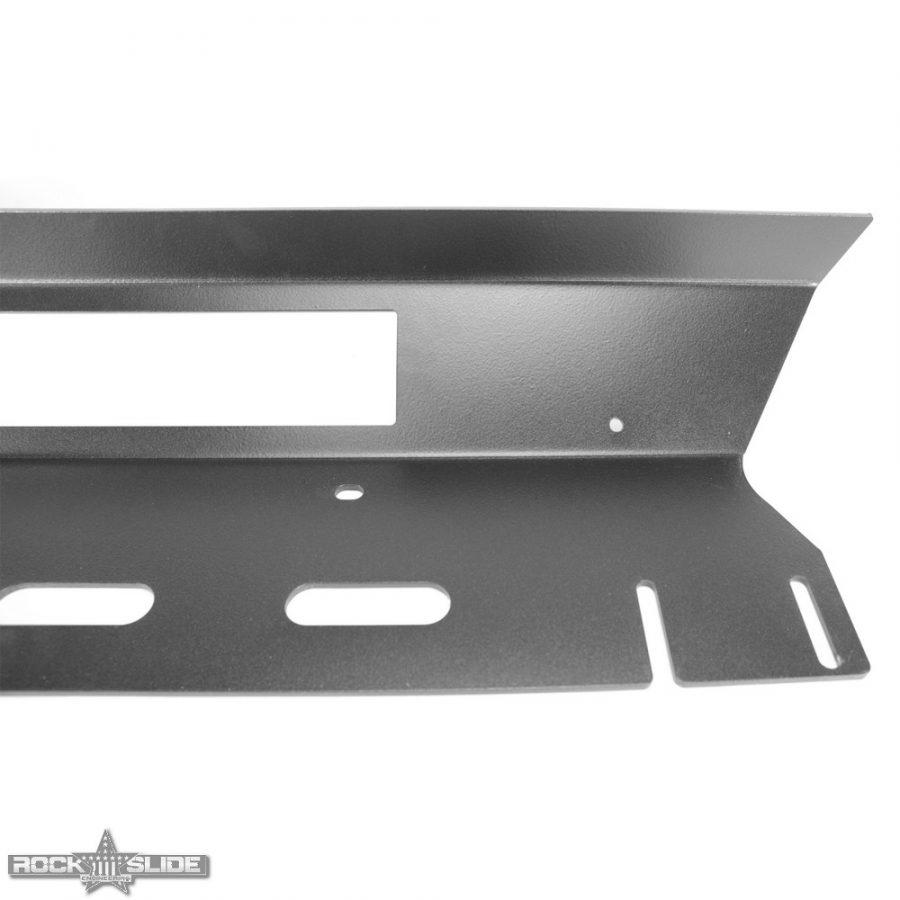 Jeep Wrangler JK step slider skid plate