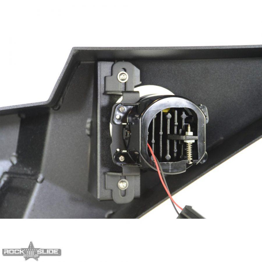 Jeep Wrangler JL full front bumper with speaker light