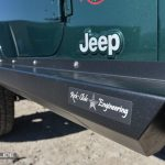 Jeep Wrangler TJ step slider