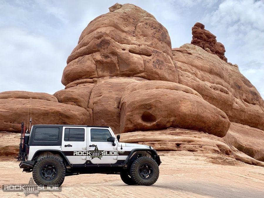 Jeep Wrangler JK rocker guards