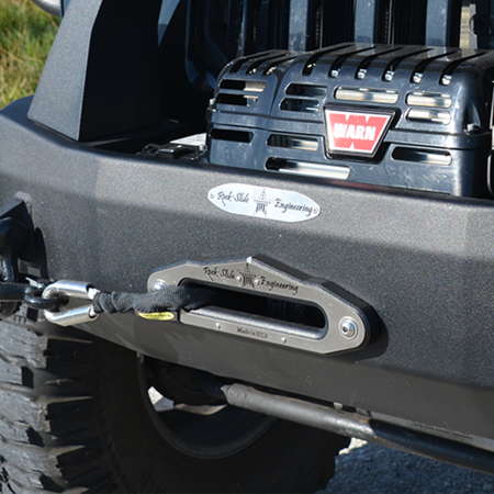 Jeep Wrangler Aluminum Fairlead Front Bumper