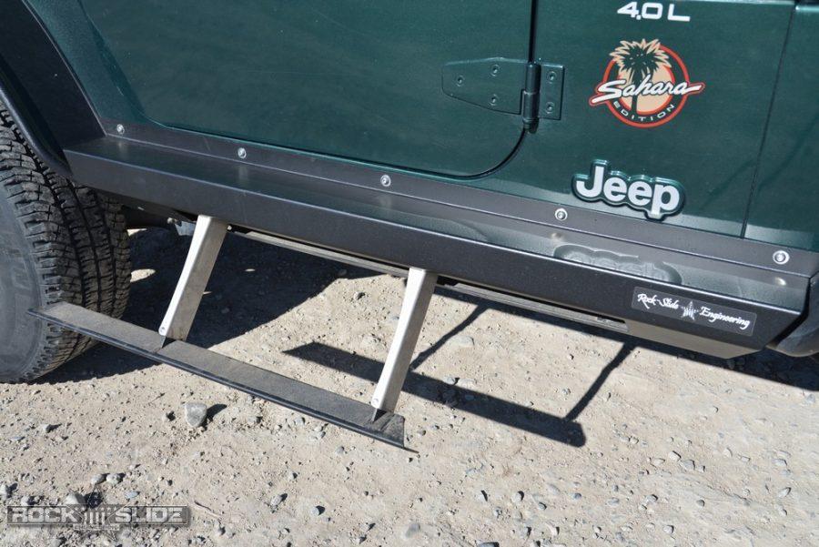 Jeep Wrangler TJ step slider