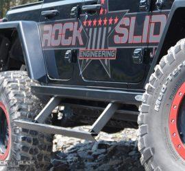 Jeep Wrangler JL step slider