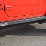 Jeep Wrangler JK step slider