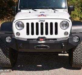 Jeep Wrangler JK full front bumper