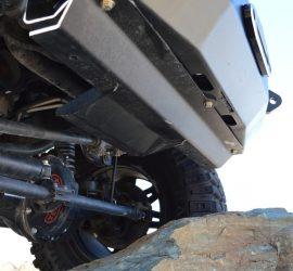 Jeep Wrangler JK front skid plate