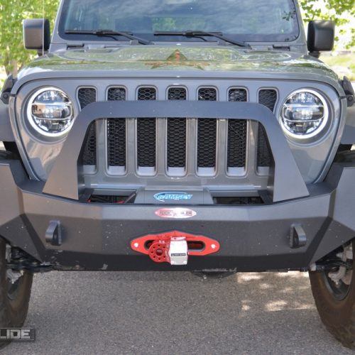 Jeep Wrangler JL full front bumper with bullbar