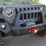 Jeep Wrangler JL full front bumper with bullbar