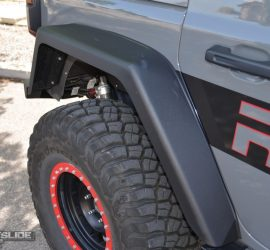 Jeep Wrangler JL full length rear fender flare
